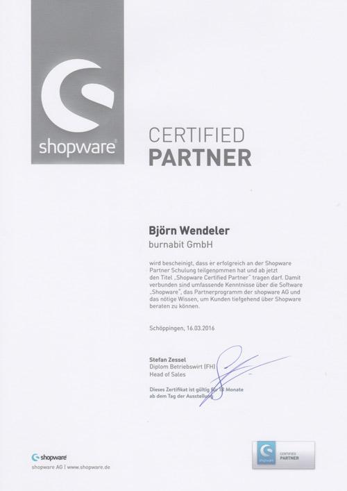 burnabit shopware certified partner