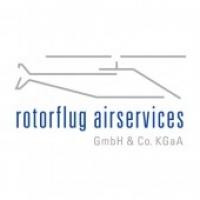 Logo Rotorflug Airservices Blau